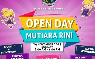 Open Day Of Tadika Kristal Karisma In Mutiara Rini